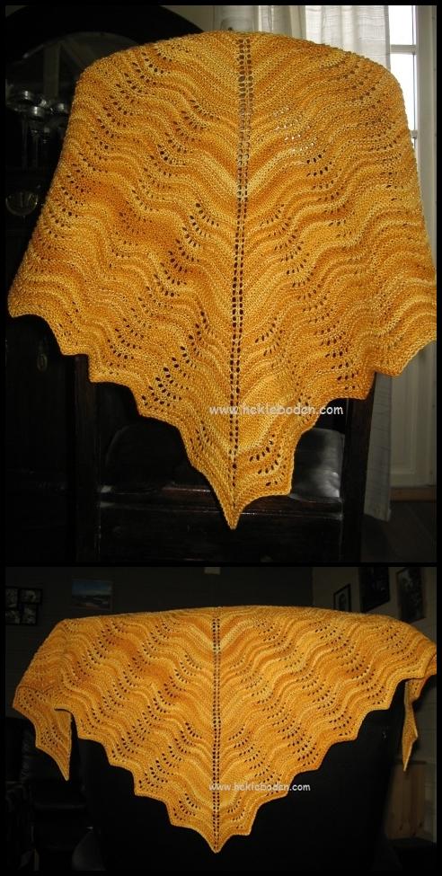 Feather & Fan-sjal